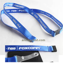 Dây đeo thẻ in mực cao su Foxconn