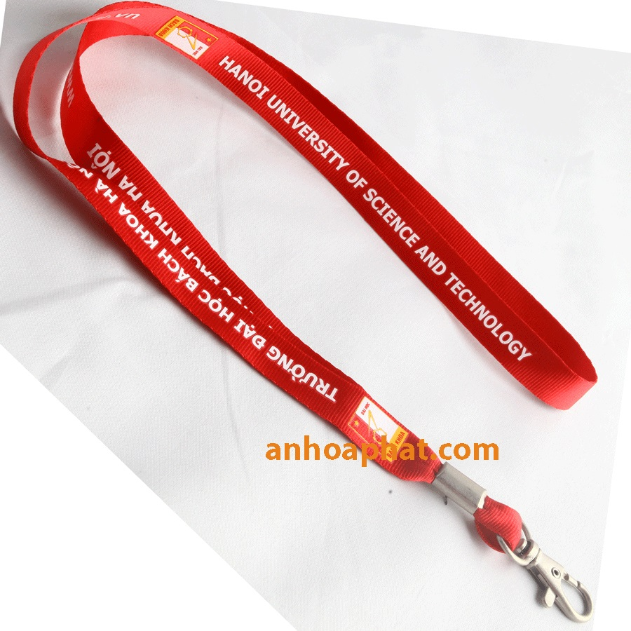 D - 12 Dye sublimated lanyard - Dây in truyền nhiệt