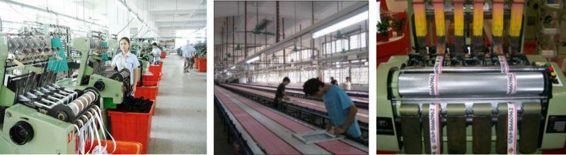 Hình ảnh xưởng in gia công dây đeo thẻ nhân viên cao cấp